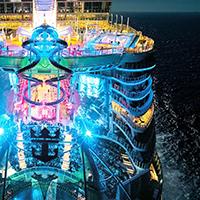 世界最大級の新造船で行く地中海・カリブ海クルーズ