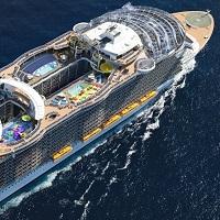 GWの西地中海クルーズは世界最大の新造船で