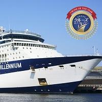 2017年に最高評価を得たプレミアム客船、セレブリティ・ミレニアムで巡る日本の美