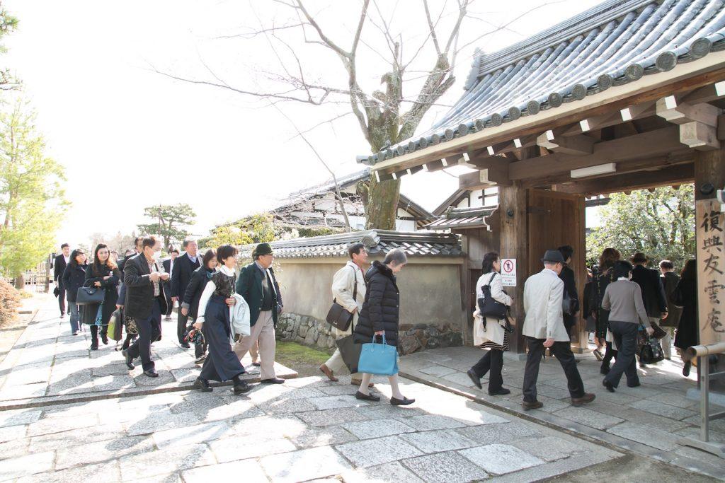 名勝・嵐山を代表する古刹「天龍寺」へ