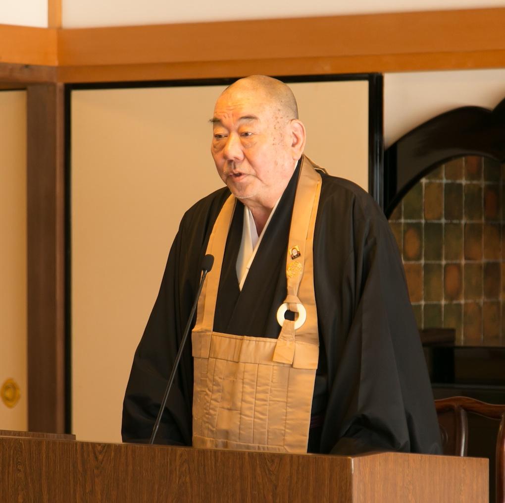 宗務総長の田原義宣さん