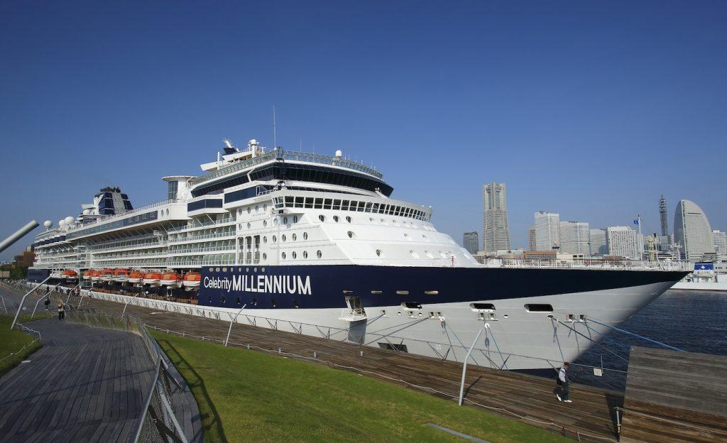 豪華客船セレブリティ・ミレニアムで航く 「日本一周 秋の美巡りクルーズ」へ