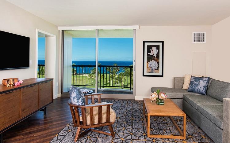 リビングルームのイメージ © 2018 Hilton Grand Vacations Inc.