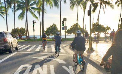 ホノルルに登場した新サービス バイクシェア「Biki Bike」