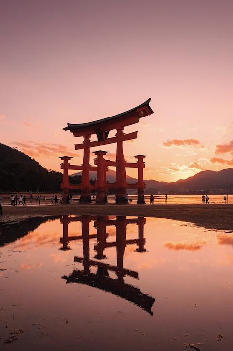 広島、厳島神社