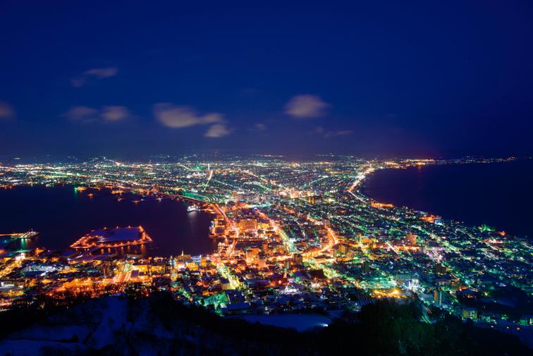 函館、函館山からの夜景