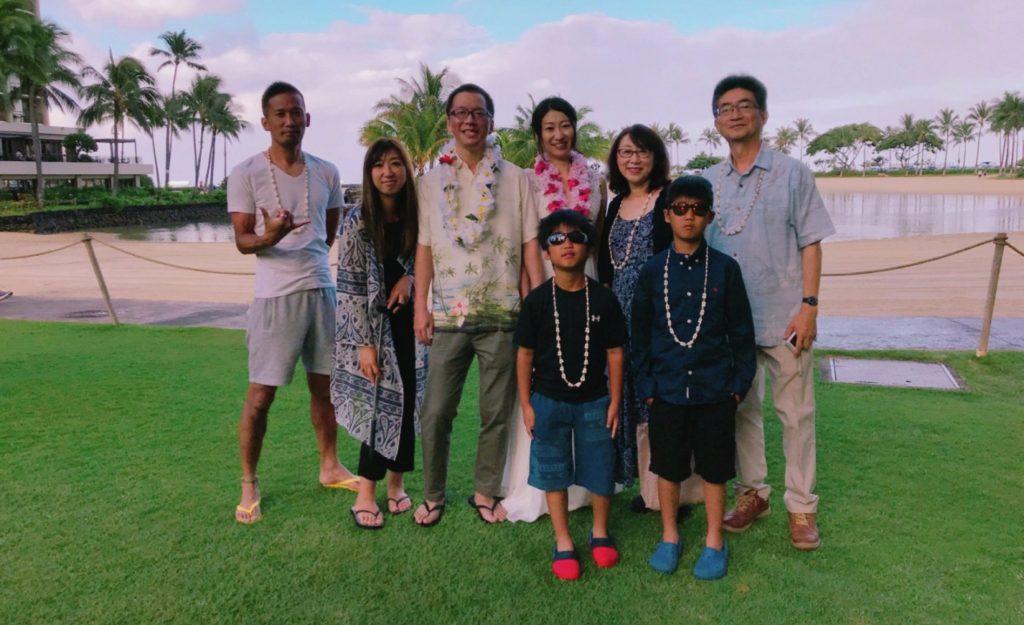 長女の結婚のお祝いで実現した念願の家族3世代ハワイ旅行