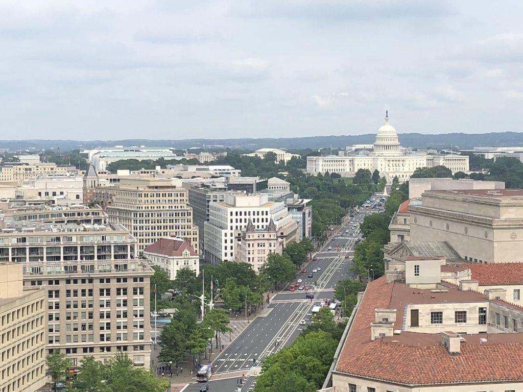 初めてのワシントンD.C.体験