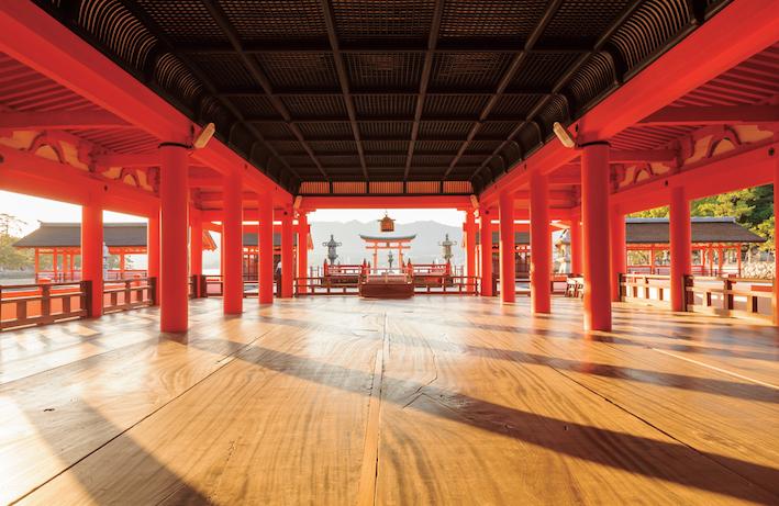 宮島の世界遺産・厳島神社