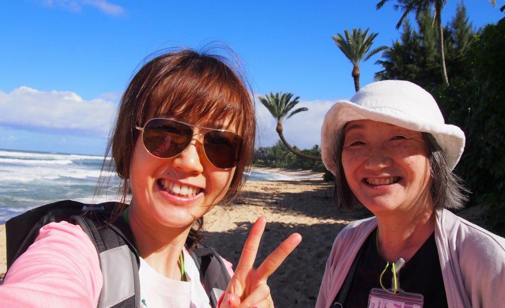 ついに実現した夢、それはお母様とのバケーション in ハワイ