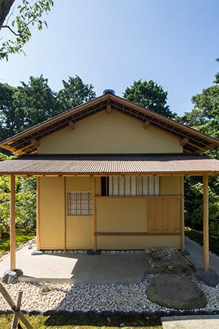 写真提供:茶室「雨聴天」 ©小田原文化財団/Odawara Art Foundation
