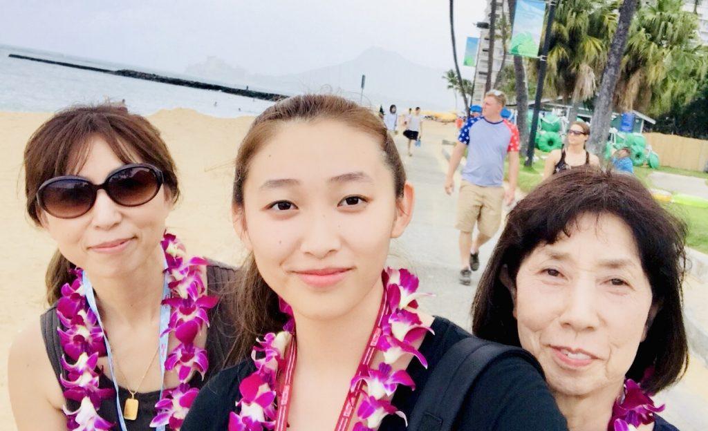 祖母、母、娘で楽しんだハワイを、次は家族みんなで訪れたい