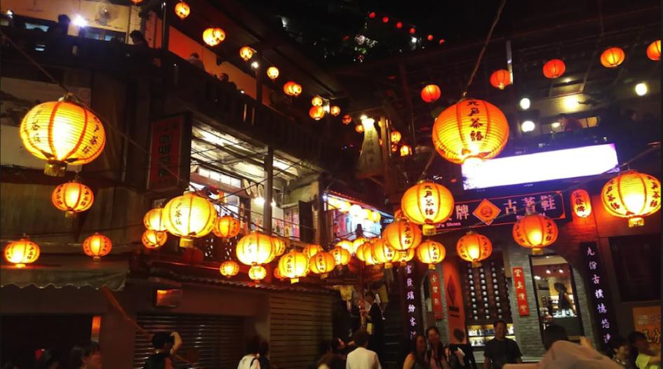 人気の旅行先として常に上位の台湾へ