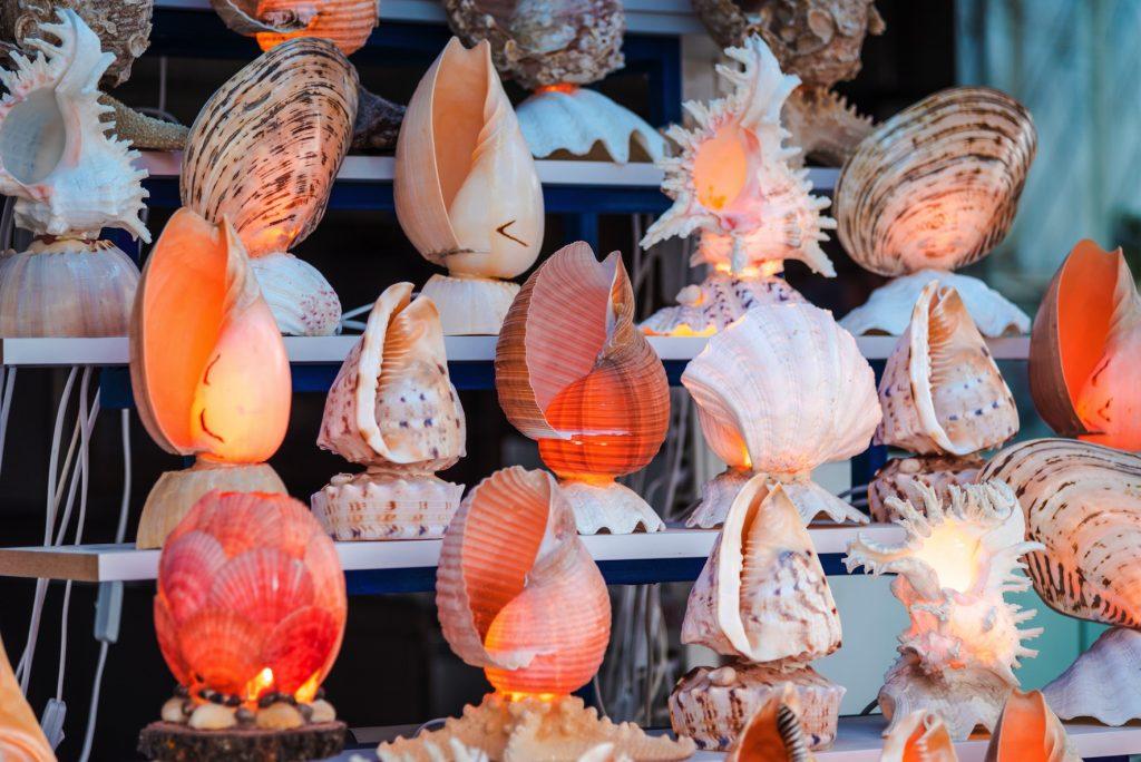 モルディブ市場でのショッピング