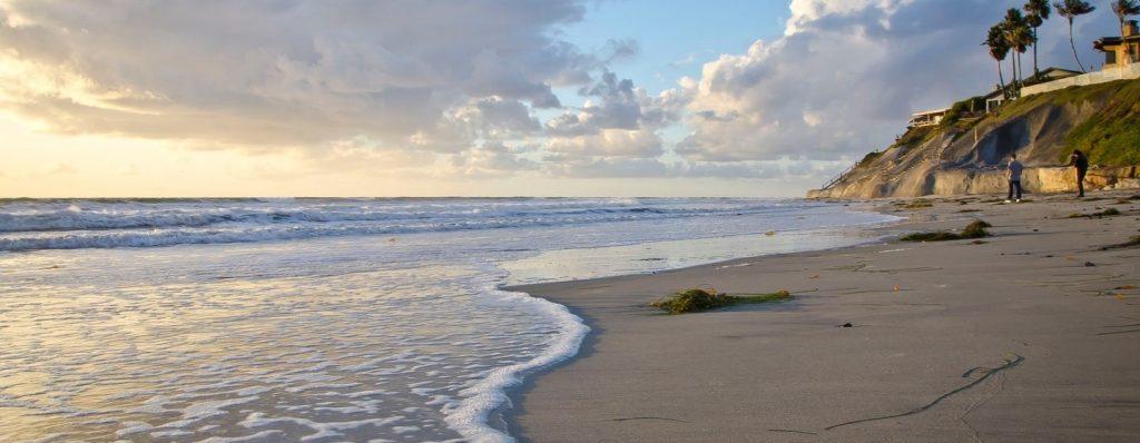 果てしなく伸びるビーチへ!