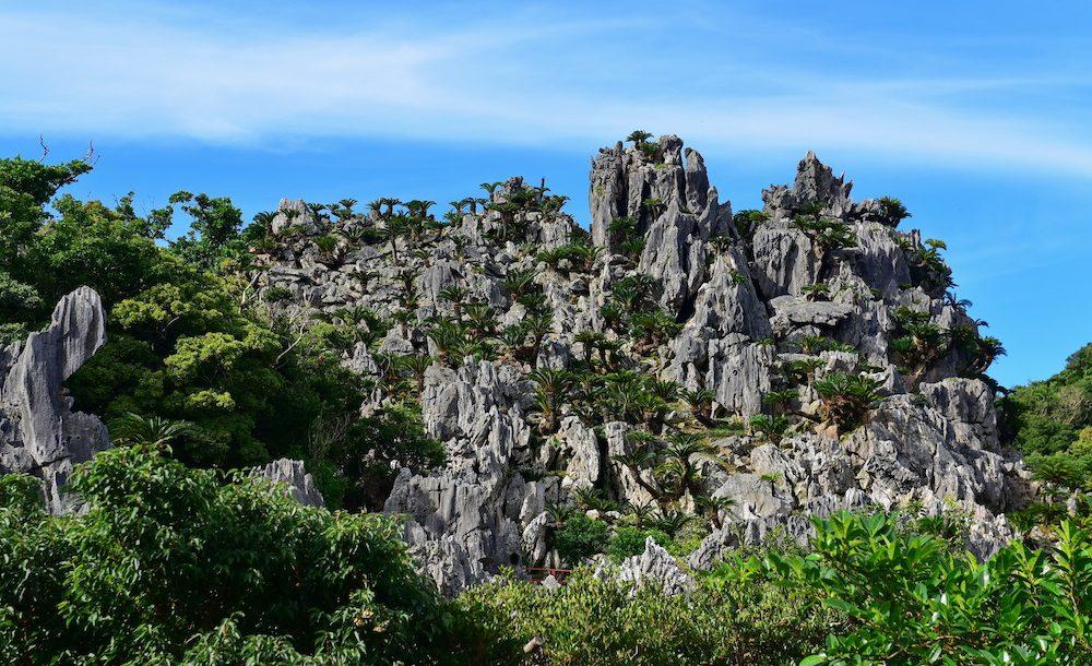 大石林山と辺戸岬
