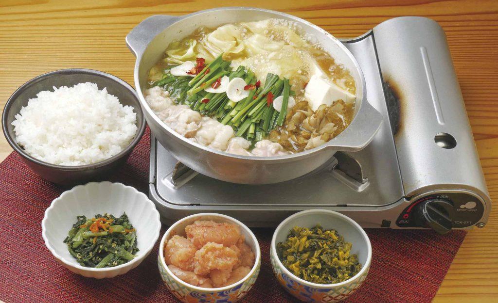 もつ鍋膳(あごだし醤油味) 2,000円(税込)