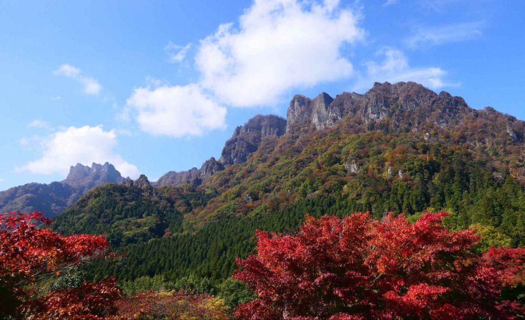日本三大奇勝の妙義山でハイキング
